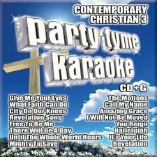 Party Tyme Karaoke - Party Tyme Karaoke: Contemporary Christian, Vol.