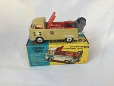 Corgi Toys no. 490 Volkswagen Breakdown Truck Boxed