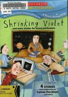 SHRINKING VIOLET, A READ ALONG DVD 4 STORIES NARRATION  BY CALISTA FLOCKHART