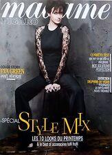 French magazine 2014: EVA GREEN_ELLEN DE GENERES