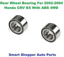 Rear Wheel Bearing For 2002 2003 2004 Honda CRV EX With ABS FWD