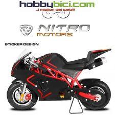 Minimoto PS 50 ROCKET BIGBORE motore Bigbore carburatore frizione racing rossa