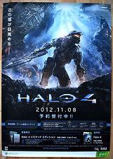 Halo 4 RARA XBOX 360 51.5 CM x 73 cm giapponese PROMO POSTER
