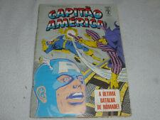 VINTAGE PORTUGUESE CAPTAIN AMERICA COMIC CAPITAO 1988 MARVEL ULTIMA 108 EUROPEAN
