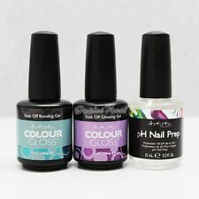 Artistic Colour Gloss Kit 3pc - Bonding Base + Glossing Top + pH Bond Nail Prep