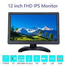 12 inch FHD Monitor 1920*1080 with Video Audio VGA AV BNC USB HDMI Monitor