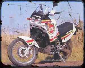 Cagiva Elefant 900Ie A4 Metal Sign Motorbike Vintage Aged