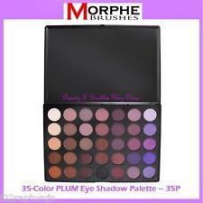 NEW Morphe Brushes 35-Color PLUM Eye Shadow Palette 35P FREE SHIPPING Purple NIB