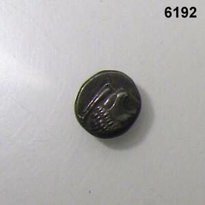 ANCIENT GREEK IONIA MILETOS 6TH CENTURY BC SILVER 1/12 STATER 10.5 MM DIA. #6192
