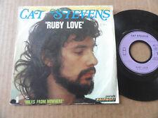 """DISQUE 45T DE CAT STEVENS  """" RUBY LOVE """""""