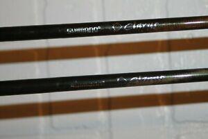 "pair of Shimano Clarus Medium-Light Fast Action Casting Rods CSC710M 85"" & 80"""