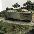 HO KAR-LINE #85 40' BOX Southern Pacific Aluminum KDs,Central Valley trucks OB