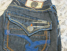 Laguna BEACH Jean Co. men's denim classic boot cut  Hand Made JEANS 33X35