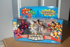 Marvel SUPER HERO SQUAD X-MEN Showdown with Magneto~Emma Frost~Wolverine~Colossu