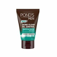 Pond's Men Acno Clear Oil Control Face Wash, 100 g US