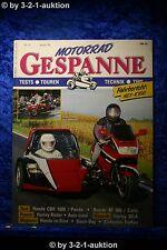 Motorrad Gespanne Nr.31 1/96 Honda CBR 1000 Suzuki RF 900 Harley WLA
