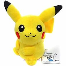 "Pokemon XY Male-Female Plush Doll 49207- 6"" Long Plush- Pikachu"