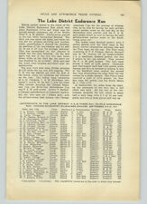1911 PAPER AD Article The Lake Districk Chicago Motorcycle Endurance Run Race
