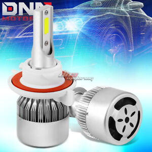 WHITE 6000K BRIGHT UPGRADE BRIGHTER LED LIGHTS H3 REPLACEMENT BULBS WITH FAN
