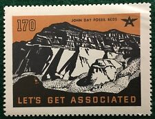 #170 John Day Fossil Beds - Let's Get Associated, Flying A Gas & Oil Company