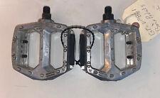 "GT VP-821 BMX Bike Platform Pedals 1/2"" BMX Old School Mid School W/ Reflectors"