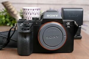 Sony Alpha A7 II 24.3MP Digital Camera Body A7m2 w/Strap, Batts and Charger