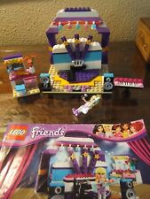 Lego Friends 41004 Rehearsal Stage w/ Stephanie  Missing only Mic Stand