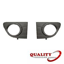 FRONT BUMPER FOG GRILLE WITH LAMP HOLE PAIR LEFT & RIGHT  FIAT PUNTO EVO 2010-
