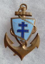 insigne DIRECTION DE TROUPES COLONIALES variante G.E MARDINI à vis WWII ORIGINAL