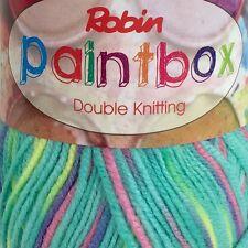 Robin Paintbox DK STUNNING Colours 500 Grams 5x 100 Gram Balls Mirage