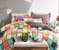 T532 100% Cotton Queen/King/Super King Size Bed Duvet/Doona/Quilt Cover Set New
