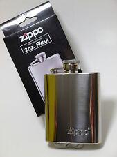 "ORIGINALE "" Zippo "" Flachmann CROMO - 3 once / 90 ml - NUOVO - 725391"