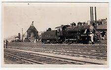 ATSF Athison Topeka Santa Fe Railroad Train REAL PHOTO Photograph RR Railway