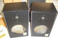 Pair Vintage Dalco Speaker Works - Cabinet with Polydax Tweeter  MW-1 Audiophile