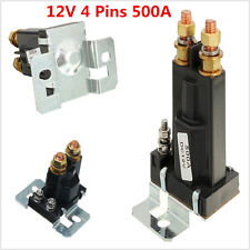 1pcs 4 pin 500A Amp 12V Dual Battery Isolator Relay On/Off Car Auto Power Switch
