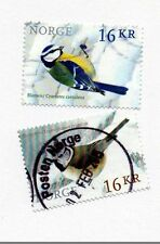 Birds Used European Stamps