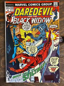 Daredevil & The Black Widow #102 HIGH GRADE 8.5 VF+ bronze age Marvel comic book