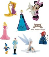 Official Bullyland Disney Rapunzel Frozen Fairy Figures Toys Cake Topper Toppers