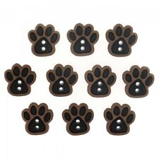 10 Sew Cute Animal Paws Dress It Up Novelty Craft Buttons Embellishments