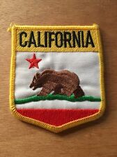 California Flag Patch - EMBROIDERED