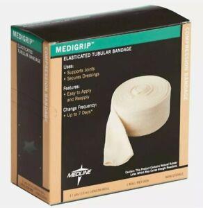 "Medigrip Tubular Bandage Elastic Compression, Size F 4"" (10M Box), MSC9505"
