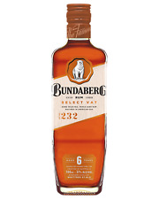 Bundaberg Select Vat Rum 6 Year Old 37% 700mL FAST DELIVERY & FREE SHIPPING