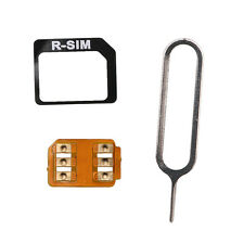 For iPhone 6 R-SIM10+ Plus RSIM Micro to Nano SIM Cloud Unlock Card Adapter