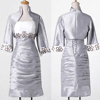 PLUS SIZE UK 24+ Bridal Party Prom Evening Formal Ball Gown Wedding Dress+Outfit