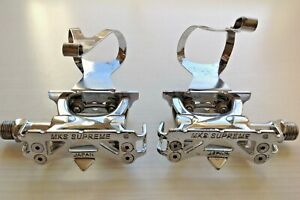 MKS Supreme Pedals NJS certified Keirin with Toe Clips