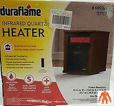 Duraflame 9HM1000-C240 5.200 BTU 1500W Infrared Electric Space Heater - Brown