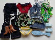 Barbie Steffi Fashion Doll Clothes Shoes  Mixed Bundle Lot 59