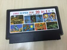 1992 Super HIK 20 in 1  : FAMICOM / NES