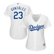 L.A. Dodgers Adrian Gonzalez #23 New Cool Base Women's Majestic Jersey - White