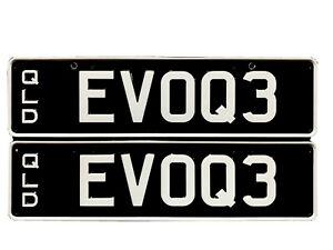 Range Rover Evoque Personalised Number Plates QLD EV0Q3